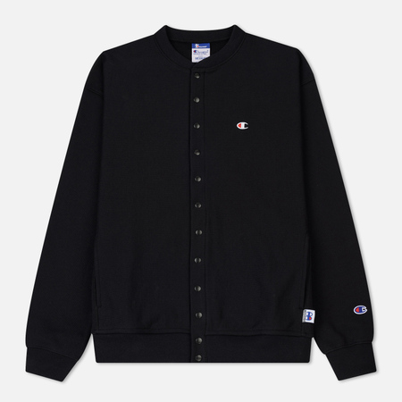 Мужская олимпийка Champion Reverse Weave x Beams Cardigan Black