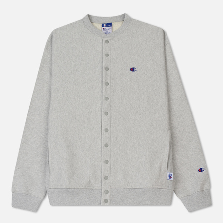 Мужская олимпийка Champion Reverse Weave x Beams Cardigan Heather Grey