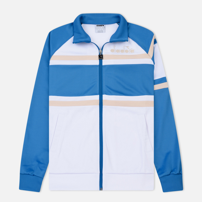 Мужская олимпийка Diadora 80s Mediterranean Blue/Rose Dust