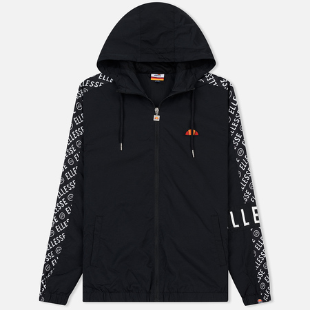 Мужская куртка ветровка Ellesse Melfi Hooded Track Black