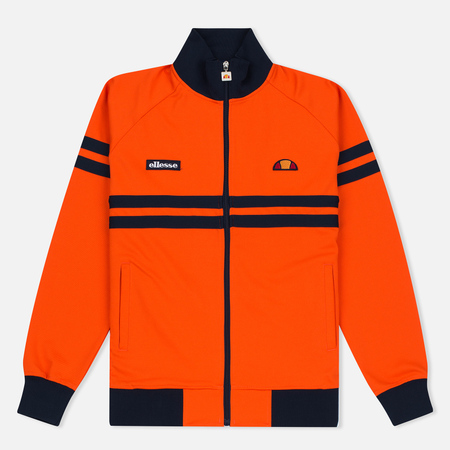 Ellesse Rimini Men's Track Jacket Red Orange