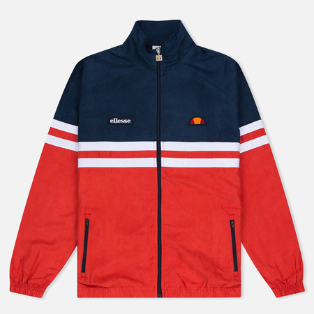 Ellesse Rimini V Men's Track Jacket  Dress Blues/Flame Scarlet