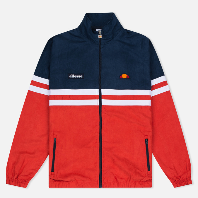 Мужская олимпийка Ellesse Rimini V Dress Blues/Flame Scarlet