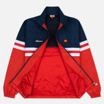 Мужская олимпийка Ellesse Rimini V Dress Blues/Flame Scarlet фото- 2