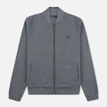Fred Perry Bomber Neck Men's Track Jacket Steel Marl photo- 0