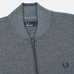 Fred Perry Bomber Neck Men's Track Jacket Steel Marl photo- 1