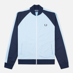 Fred Perry Bomber Men's Track Jacket Sky Blue photo- 0