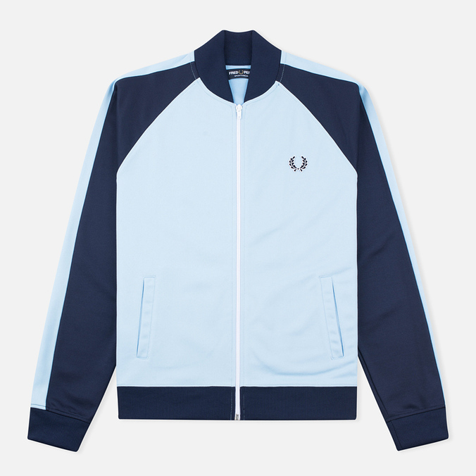 Fred Perry Bomber Men's Track Jacket Sky Blue