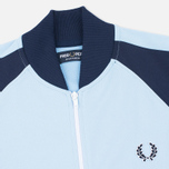 Fred Perry Bomber Men's Track Jacket Sky Blue photo- 1