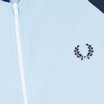 Fred Perry Bomber Men's Track Jacket Sky Blue photo- 2