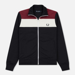 Мужская олимпийка Fred Perry Colour Block Track Navy фото- 0