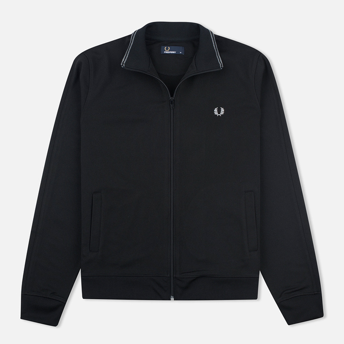 Мужская олимпийка Fred Perry Funnel Neck Track Black