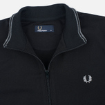 Мужская олимпийка Fred Perry Funnel Neck Track Black фото- 1