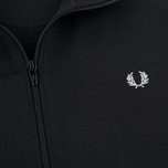 Мужская олимпийка Fred Perry Funnel Neck Track Black фото- 2