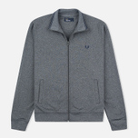 Fred Perry Funnel Neck Track Men's Track Jacket Steel Marl photo- 0