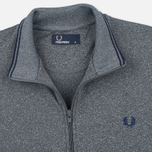 Fred Perry Funnel Neck Track Men's Track Jacket Steel Marl photo- 1