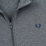 Мужская олимпийка Fred Perry Funnel Neck Track Steel Marl фото- 2