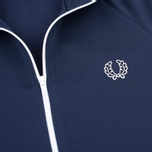 Мужская олимпийка Fred Perry Laurel Wreath Tape Carbon Blue фото- 2