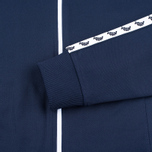 Мужская олимпийка Fred Perry Laurel Wreath Tape Carbon Blue фото- 3