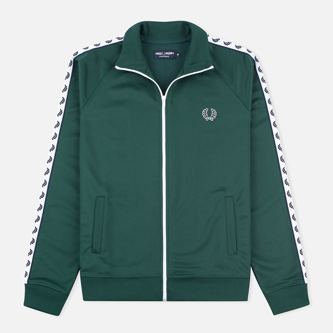Fred Perry Laurel Wreath Tape Men's Track Jacket Ivy