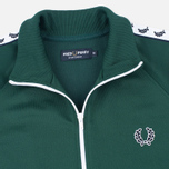 Fred Perry Laurel Wreath Tape Men's Track Jacket Ivy photo- 1