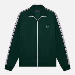 Мужская олимпийка Fred Perry Laurel Wreath Tape Track Ivy/White
