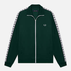 Мужская олимпийка Fred Perry Laurel Wreath Tape Ivy/White