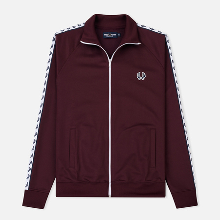 Мужская олимпийка Fred Perry Laurel Wreath Tape Mahogany