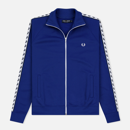 Мужская олимпийка Fred Perry Laurel Wreath Tape Rich Blue