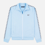 Мужская олимпийка Fred Perry Laurel Wreath Tape Sky Blue фото- 0
