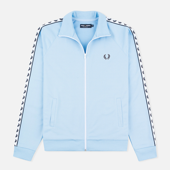 Мужская олимпийка Fred Perry Laurel Wreath Tape Sky Blue