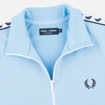 Мужская олимпийка Fred Perry Laurel Wreath Tape Sky Blue фото- 1
