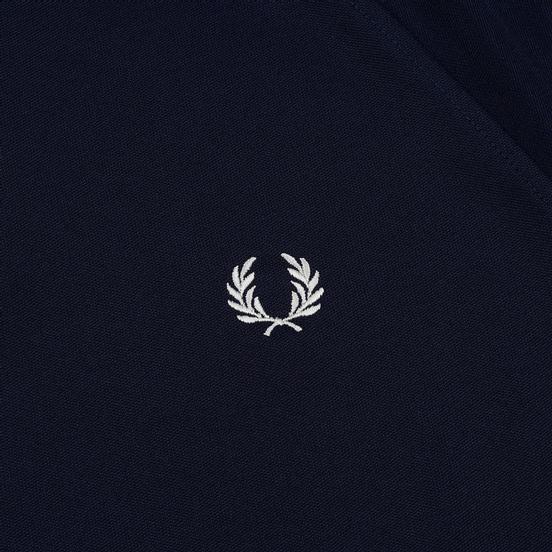 Мужская олимпийка Fred Perry Laurel Wreath Tape Track Carbon Blue/White