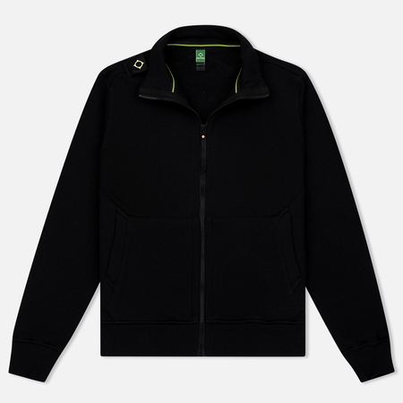Мужская олимпийка MA.Strum Zip Thru Herringbone Jet Black
