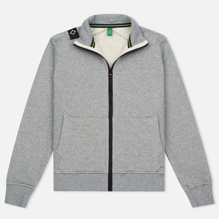Мужская олимпийка MA.Strum Zip Thru Herringbone Medium Grey Melange