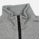 Мужская олимпийка MA.Strum Zip Thru Herringbone Medium Grey Melange фото- 3