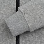 Мужская олимпийка MA.Strum Zip Thru Herringbone Medium Grey Melange фото- 4