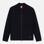 Мужская олимпийка Nike Tech Knit Bomber Black фото- 0