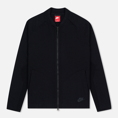 Nike Tech Knit Bomber Men's Track Jacket Black