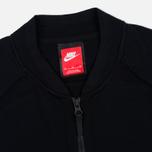 Мужская олимпийка Nike Tech Knit Bomber Black фото- 1