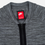 Мужская олимпийка Nike Tech Knit Bomber Dark Grey Heather/Wolf Grey/Anthracite/Black фото- 1