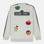 Мужская олимпийка Puma x Sesame Street Bomber Light Grey Heather фото- 8