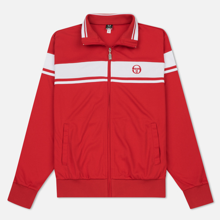 Мужская олимпийка Sergio Tacchini Damarindo Red/White