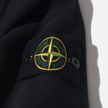 Мужская олимпийка Stone Island Brushed Cotton Fleece Black фото- 3
