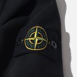Stone Island Brushed Cotton Fleece Men's Track Jacket Black photo- 3