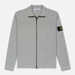 Мужская олимпийка Stone Island Lightweight Knit Grey фото- 0