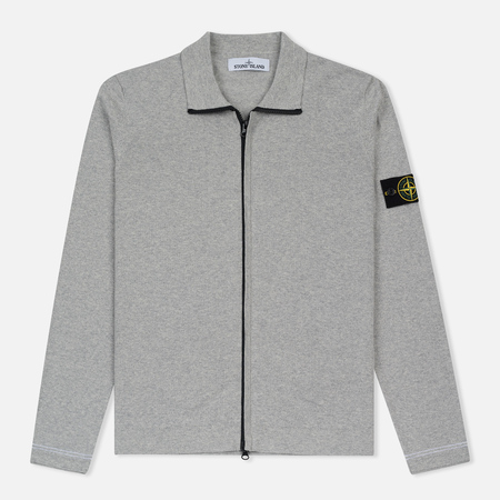 Мужская олимпийка Stone Island Lightweight Knit Grey