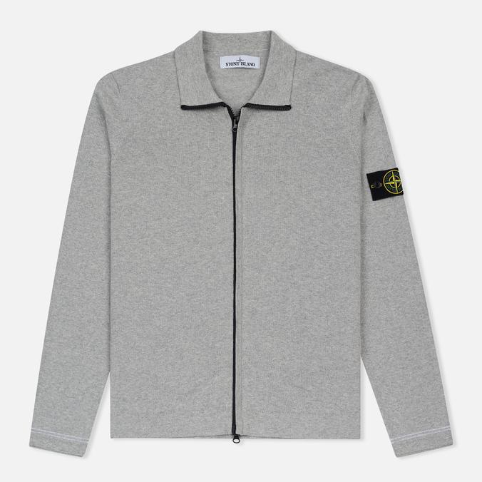 Мужская олимпийка Stone Island Lightweight Knit Grey
