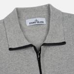 Мужская олимпийка Stone Island Lightweight Knit Grey фото- 1