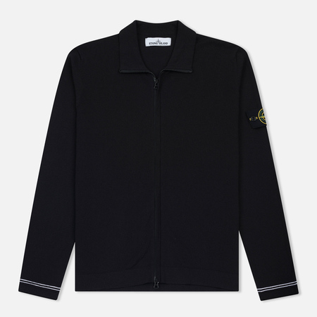 Мужская олимпийка Stone Island Lightweight Knit Navy Blue